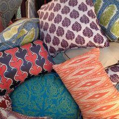 John Robshaw pillows