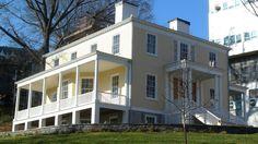 Wander up to St. Nicholas Park and visit Hamilton Grange, Alexander Hamilton's home