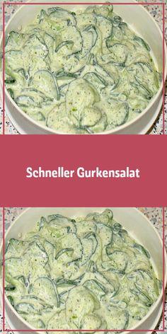 Zutaten: 2 Portionen 2 große Salatgurke(n) 2 Becher Schmand 2 Beutel Kräuter (… – WordPress Website Ingredients: 2 servings 2 large cucumber (s) 2 cups of sour cream 2 bags of herbs (… fillet fillet recipes Salad Recipes Healthy Lunch, Salad Recipes For Dinner, Chicken Salad Recipes, Easy Salads, Easy Healthy Recipes, Easy Meals, Healthy Lunches, Greens Recipe, How To Make Salad
