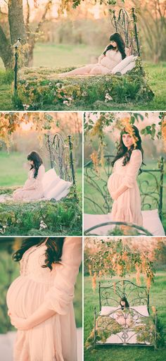 Mother Nature Inspired Maternity Photo Shoot