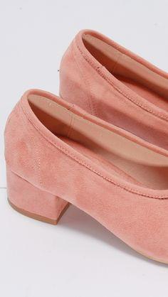 blush socks flat heels – LOÉIL