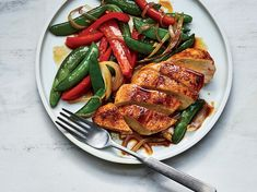 This easy chicken sauté is inspired by a recipe in Julia Child's The Way to Cook.