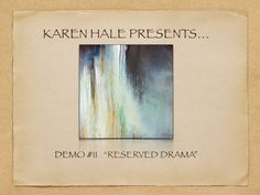 """The Making of an Abstract Painting Demo #11 """"Reserved Drama"""" http://www.karenhale.com This video is a video about abstract painting . SUBSCRIBE TO MY YOUTUBE..."""