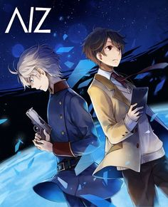 Sleine and Inaho / Aldnoah Zero Anime Nerd, All Anime, Me Me Me Anime, Manga Anime, Anime Stuff, Aldnoah Zero Slaine, Animes To Watch, Horimiya, Bishounen
