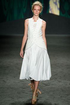 Vera Wang - Spring 2013 Ready-to-Wear