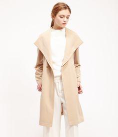 ROPÉ PICNIC(ロペピクニック)|ツイルフーデッドガウンコート Gown coat |BEIGE  #J'aDoRe JUN ONLINE #J'aDoRe Magazine