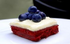 Red, White and Blueberry Bars