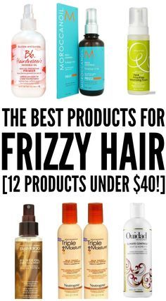 Frizzy hair can be a real bummer, especially when humidity strikes, and after trying various DIY fixes with no luck, we've rounded up 12 fabulous hair products to help you learn how to get rid of frizzy hair once and for all. At less than $40 a pop, each of these frizz control products will teach you how to tame your locks before the humidity has a chance to take hold and ruin your look.