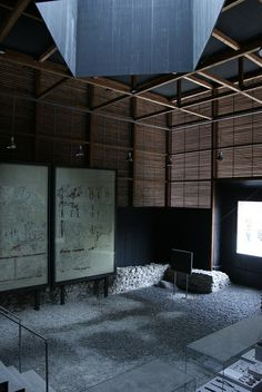 Shelter for Roman Ruins - Peter Zumthor