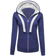 New Arrival Women Autumn Fashion Solid Slim Casual Full Sleeve Cotton O-Neck Warm Coat Zipper Pockets Jacket Coat WT003