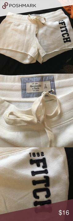 """Comfy Short Shorts NWOT. Bought but never ended up wearing. super comfy - almost """"sweatshirt"""" material. perfect for lounging in the summer! Abercrombie & Fitch Shorts"""