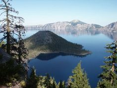 Another view of Crater Lake, Oregon