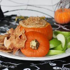 Halloween Caramel Toffee Fruit Dip