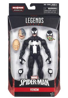 Marvel Legends - Spider-Man Absorbing Man BAF - Venom