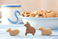homemade animal crackers - with oats