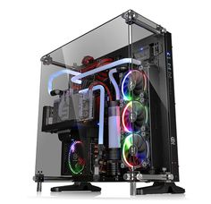 Thermaltake - Global - Core P5 Tempered Glass Edition - CA-1E7-00M1WN-03