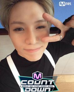 160225 Taemin — M Countdown Twitter Update | You said you can't do aegyo but why so cuuuuute
