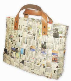 Paper Handbags... Carteras de Papel...