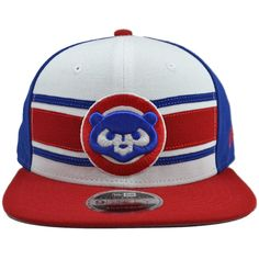 6f6a8ae68ed Chicago Cubs Cooperstown Stripe Snapback Hat by New Era