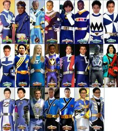 All the Blue Rangers