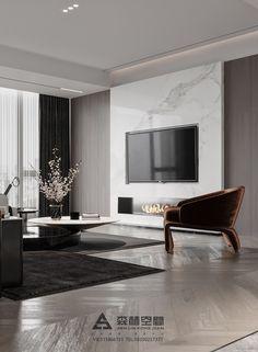 Modern Luxury Bedroom, Luxury Dining Room, Luxurious Bedrooms, Luxury Interior, Living Room Wall Designs, Home Room Design, Interior Design Living Room, Living Room Decor Fireplace, Home Living Room