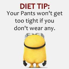"""Here are the best and top """"Top Minion Diet Quotes"""" ever! Everyone loves minions and these Funny Minion Diet Quotes will put a smile on your face! Minion Jokes, Minions Quotes, Breakfast Low Carb, Funny Minion Pictures, Funny Images, Funny Pics, Funny Videos, Beau Message, Minions Love"""