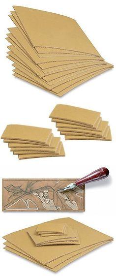 Linoleum 183109 Cut Set 12 Pack Printmaking Carving Sheet Block Printing Sheets