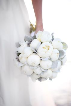 Robyn Thompson Photography - White Peony Bouquet
