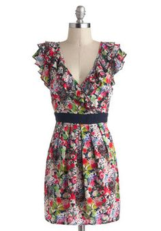 Estivate in Style Dress, #ModCloth