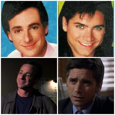 """Jon Stamos and Bob Saget  