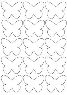 Schmetterlinge stencilVorlage Schmetterlinge stencil PAPER BUTTERFLY - these paper butterflies are so fun to make! You can even add these to a wall. A fun and easy spring craft for kids. pdf little butterfly deco pdf little butterfly deco Flower Shapes Heart Template, Butterfly Template, Crown Template, Flower Template, Butterfly Painting, Butterfly Crafts, Butterfly Mobile, Paper Butterflies, Paper Flowers