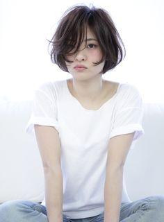 【ボブ】シースルーボブ/M.SLASH 市ヶ尾店の髪型・ヘアスタイル・ヘアカタログ|2016春夏