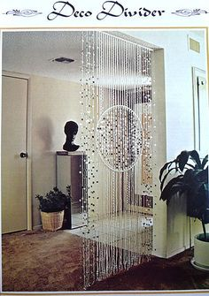 Beaded Room Dividers Kallax Macrame Colar Art Projects Curtain