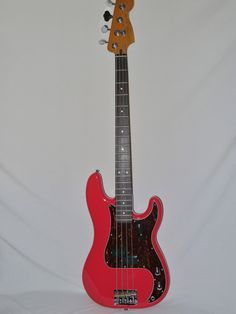 Indian Creek Guitars - Squier Classic Vibe 60's Precision Bass  - Fiesta Red, $ (http://www.indiancreekguitars.com/squier-classic-vibe-60s-precision-bass-fiesta-red/)