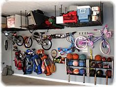 Lots of ideas for Organizing the Garage
