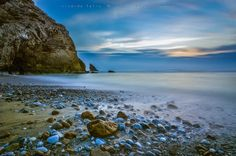 Sunset in Adraga Beach by Ricardo Bahuto Felix on 500px