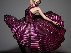 Rie Hosokai inflatable couture