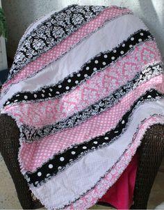 Rag quilt. Pretty