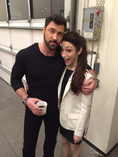 I know you're as emotionally invested in the future of Dancing With The Stars' Maksim Chmerkovskiy and Meryl Davis as I am. So are Maks and Meryl dating yet? They haven't gone public — well, except for their insane chemistry on and off the dance… Dancing With The Stars Pros, Meryl Davis, Maksim Chmerkovskiy, Beautiful Love Stories, Beautiful Places, Professional Dancers, Great Tv Shows, Winter Olympics