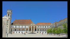 Coimbra. Universidad. Portugal