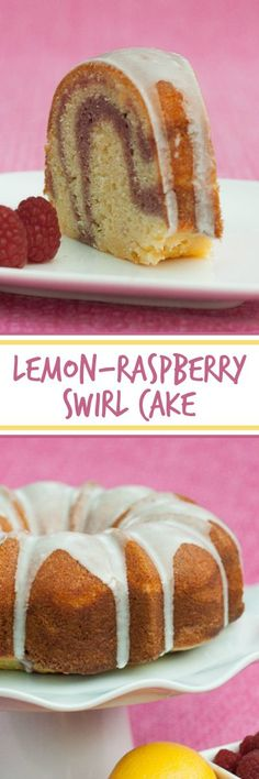 Chock-full of lemon zest and juice with a playful berry swirl, this Lemon-Raspberry Swirl Bundt Cake tastes like sunshine in dessert form. A great recipe for summer parties!