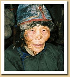 Soyun, a 100-year-old shaman, is one of only a few shamans living among the reindeer herders. The Face of the Shaman