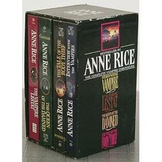 I have read the entire Vampire chronicles by Anne Rice...Excellent! There are other books that follow, also excellent!