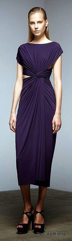 "Lucys blog the haute stream...: Donna Karan Pre-Fall 2015 ""The Uniform of Dressing."""