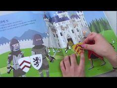 스티커 원더랜드 시리즈 6 용맹한 중세의 기사들 : Sticker Dressing Knights