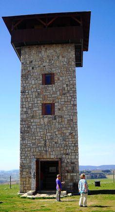 Rozhledna U borovice - Roprachtice - Podkrkonoší - Česko Lookout Tower, Tower House, Czech Republic, Towers, Prague, Castles, Houses, Camping, Travel