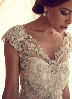 Stunning Wedding Dresses by Anna Campbell 2013 #bride #wedding