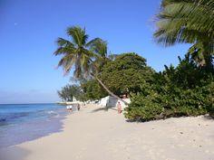 Barbados - Christchurch - Worthing Beach - busy on Sundays!!
