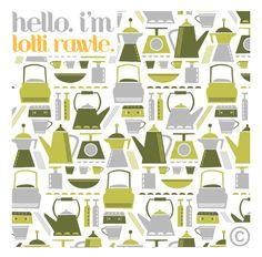 pattern designdanielle stewart design, via flickr   prints and
