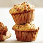 Banana, Date and Oat Bran Muffins recipe - I substituted oatmeal for the oat bran and added 1/2 cup gogi berries and 6 teaspoons of chia seeds.  Recipe doubles nicely!